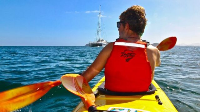 Multi day kayaking, New Zealand