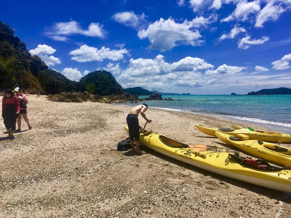 Photo Gallery - Sea Kayaking in NZ