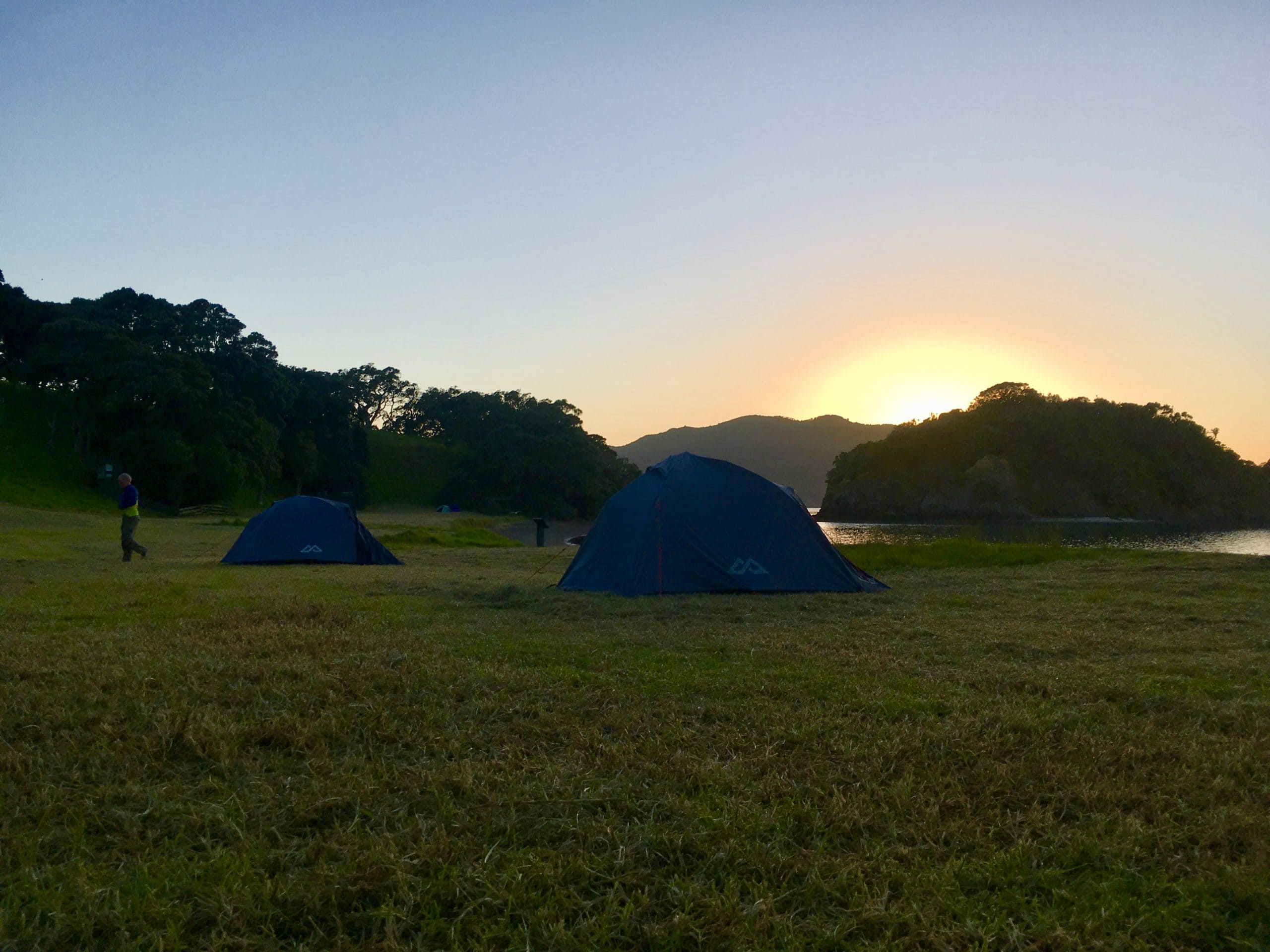 Camping Urupukapuka Island